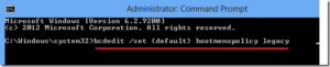 windows safe mode legacy